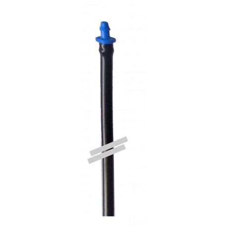Conjunto Rondo Tubo PVC + Conector Azul