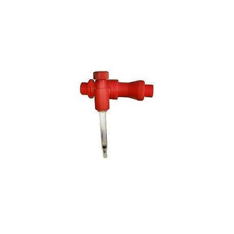 Inyector Venturi Con Caudalímetro + Regulador de Aspiración 3/4 Komet