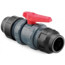 Válvula PVC con Salida PE