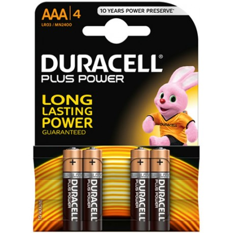Pila Alcalina Duracell Plus Power Blister
